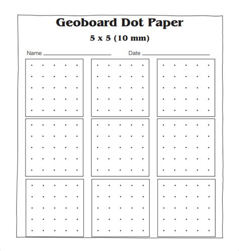 Printable Isometric Paper Template