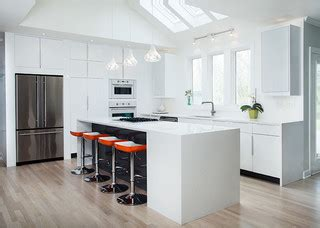 ikea high gloss white kitchen  modernash  nashville