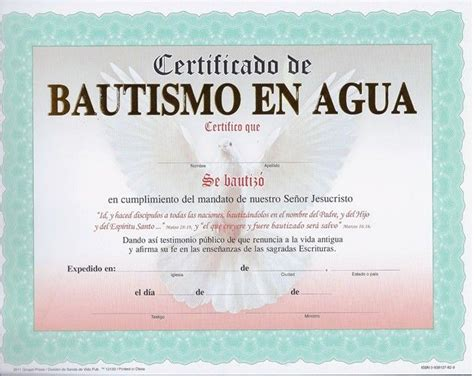 certificados cristianos para imprimir y editar la roca certificado de bautismo con marco aqua