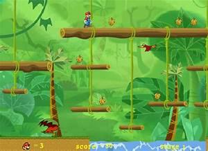 Jeux De Jungle : jouer mario jungle adventure jeux gratuits en ligne ~ Nature-et-papiers.com Idées de Décoration
