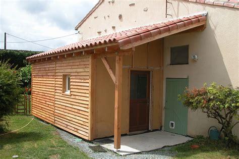 cout maison ossature bois vue extrieure de la maison ecologique en bois ralise avec un mur