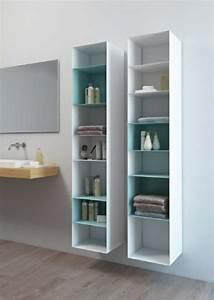 Meuble Salle De Bain Rangement : le meuble colonne en 45 photos qui vont vous inspirer ~ Dailycaller-alerts.com Idées de Décoration