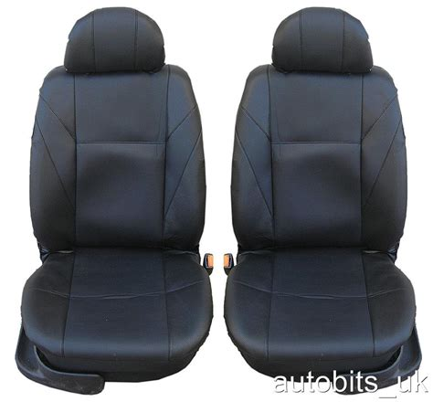 siege sharan front leather black seat covers for vw polo bora jetta