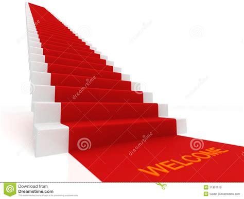 tapis sur les escaliers images libres de droits image 11991919