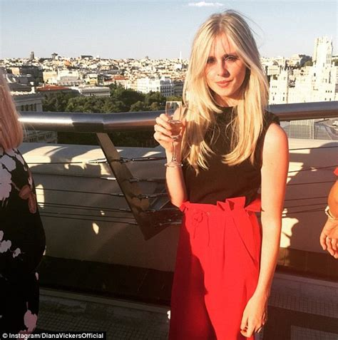 Diana Vickers Shows Off Her Bikini Body As She Celebrates Her 24th Birthday In Madrid Daily