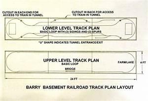 Barry U0026 39 S Track Layout Plan