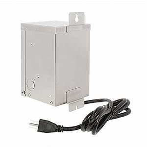 Low voltage transformer watt multi tap landscape
