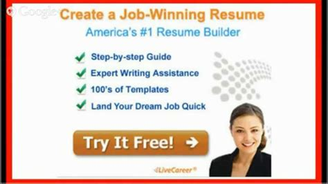 Resume Builder Ratings by Livecareer Resume Builder Review