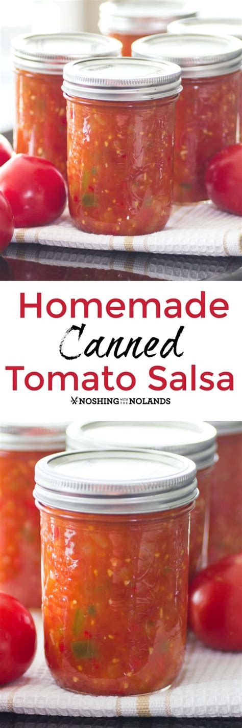 This tomato salsa canning recipe is packed with tomatoes, peppers, onions, and just enough spicy stock up with enough to can a batch of homemade salsa and enjoy the delicious flavors of summer a food processor makes chopping easier and less time consuming. Homemade Canned Tomato Salsa is the best with fresh summer produce.