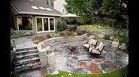 Patio Designs Stone patio ideas - YouTube