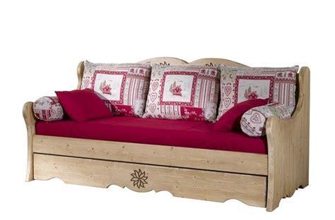 canapé convertible d occasion banquette lit gigogne aravis meubles