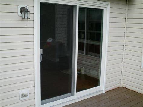 finished andersen permaglide patio door