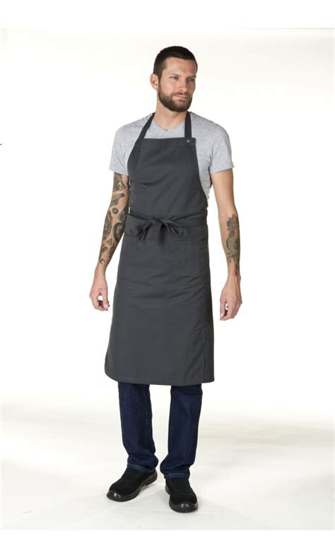 tablier de cuisine professionnel personnalisé tablier de travail personnalisé chianti mixte pour cuisine et service