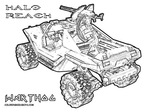Buy Halo reach para dibujar colouring pages print posters on