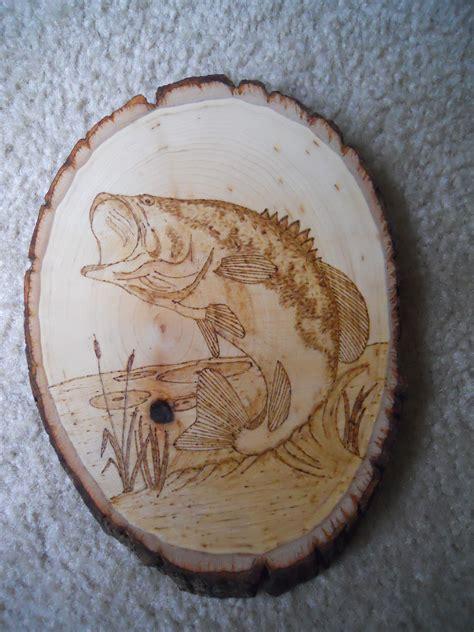 largemouth bass fish wood carving wood carving patterns