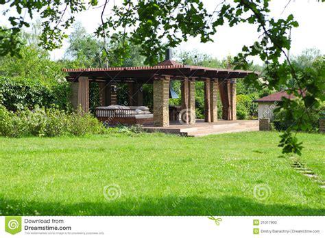 garden house stock photo image