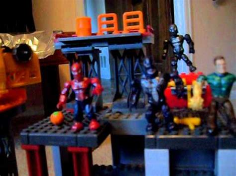 spiderman  custom final battle set legosmegablocks