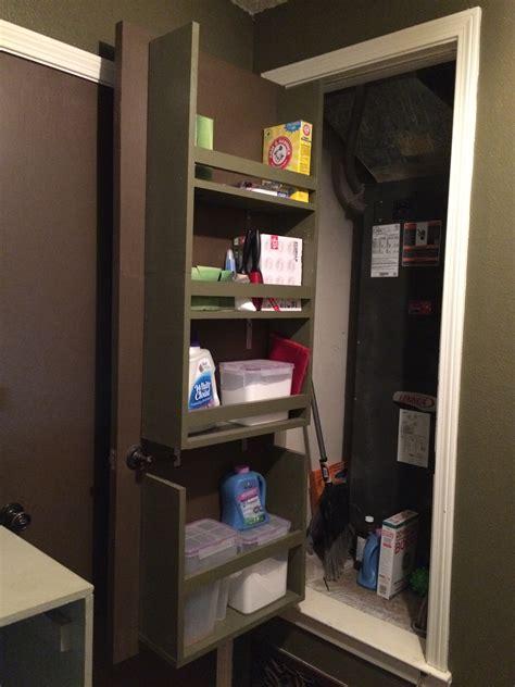 the door shelves remodelaholic build an organized back of door shelf