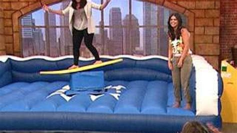 surfs   katie lee rach rachael ray show