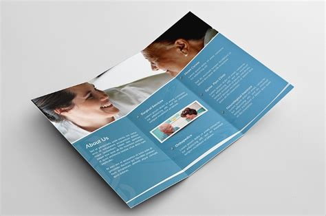 medical brochure designs psd  design trends