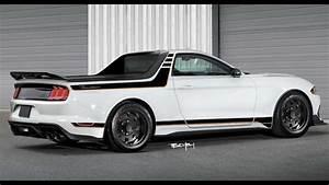 Mustang Mach 1 Pickup Rendering Revives Car-Based Ranchero Pickup