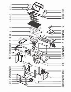 Weber 6721411 Parts List And Diagram
