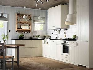 Buying off white kitchen cabinets for your cool kitchen for Kitchen cabinet trends 2018 combined with leroy merlin papier peints
