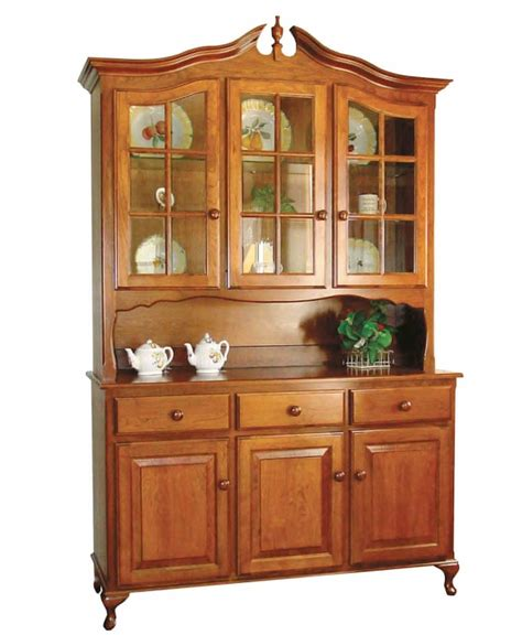 amish hutch pediment hutch amish direct furniture