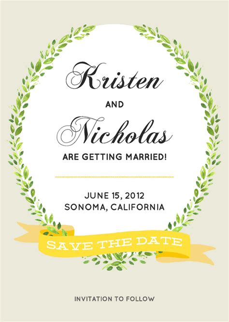 save the date templates free printable save the date cards