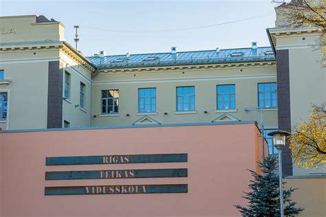 Atjaunota Rīgas Teikas vidusskolas fasāde - RESTAURĀCIJA ...