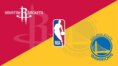 Banner for NBA game - Rockets vs Warriors | Warrior, Nba ...