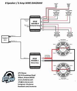 Mono Amp 2 Speaker Wiring Diagram