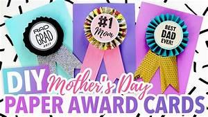 DIY Mother's Day Card ~ #1 Mom Paper Medallion - HGTV ...