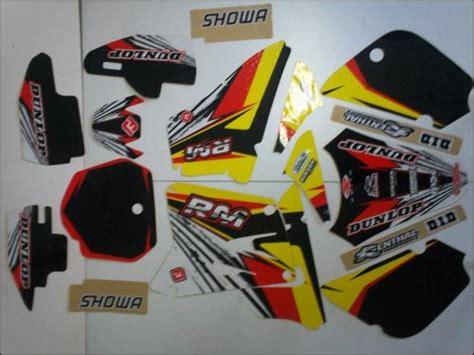 kit deco rm 85 dfmoto kit d 233 co moto cross pi 232 ces accessoires moto