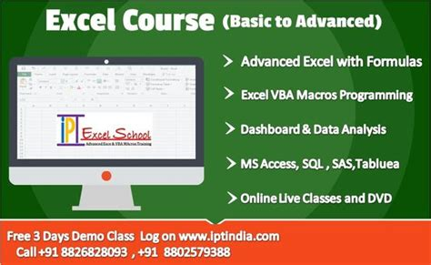 Advance Excel Mis Training