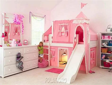 Bedroom Design Pink Colour by Contemporary Princess Bedroom Design With Pink Color And