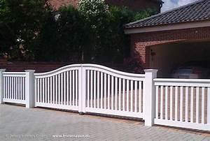 Gartenzaun Weiß Holz : wei e friesentore mit 25 jahren garantie hartholz ~ Michelbontemps.com Haus und Dekorationen