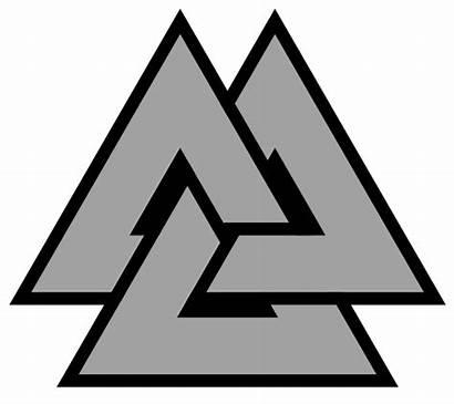 Symbol Valknut Heathenry Self Symbols Discipline Reliance