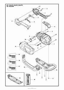 Husqvarna 536lipt5 Parts Diagram For Housing