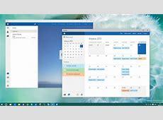 Neue EMail und KalenderApp in geleaktem Windows 10