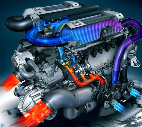Bugatti Veyron Super Sport Engine