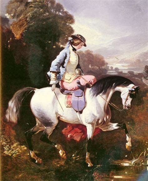 shipping classic court figure horse riding scenery
