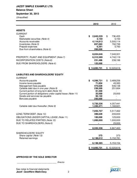 trust financial statements template sle financial statements from jazzit fundamentals