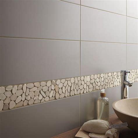 carrelage salle de bain mural loft en fa 239 ence gris gris n 176 3 20 x 50 2 cm salle de bain