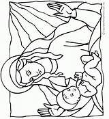 Jesus Coloring Pages Birth Bible Mary Mother Christ Makingfriends Colouring Printable Christmas Crafts Patterns Lds Adult Embroidery Christian Enfant Stencil sketch template