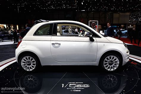 Www Fiat by Fiat 500 60th Anniversary Edition Launched In Geneva