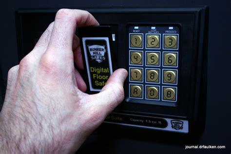 Bunker Hill Digital Floor Safe by Bunker Hill Safe Manual Security Sistems