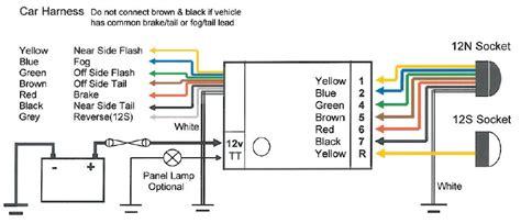 universal teb7as bypass relay towing electrics towbar wiring ebay
