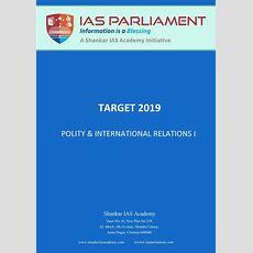 Polity & International Relations I  Downloads  Ias Parliament