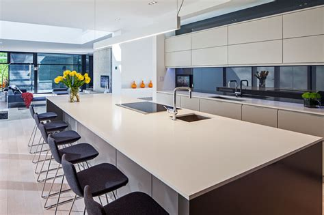 kitchen island ontario modern home in oakville ontario scandinavian kitchen